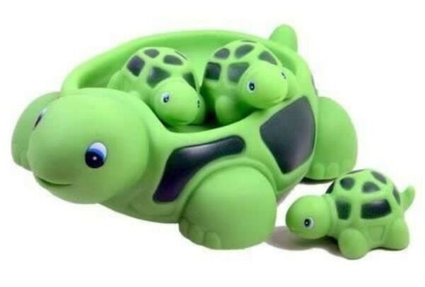 Turtle Family Bath Sets(set of 4) - Floating Bath Tub Toy