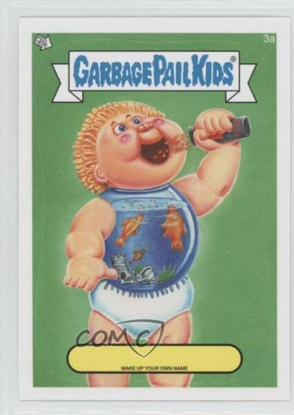 2014 Topps Garbage Pail Kids Series 1 Make up Your Own Name #3a Up Card 0n8