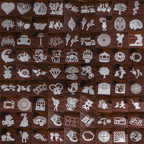 Leaves Metal DIY Cutting Dies Stencil Scrapbook Album Paper Card Embossing Craft