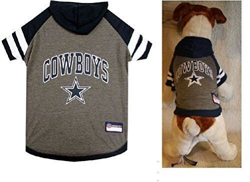 Dallas Cowboys Tee Hoodie NFL Dog Pets First all sizes $18.69