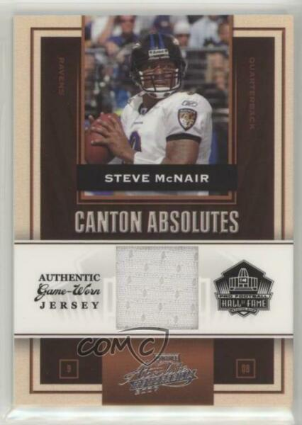 2007 Playoff Absolute Memorabilia Canton Absolutes Materials200 Steve McNair