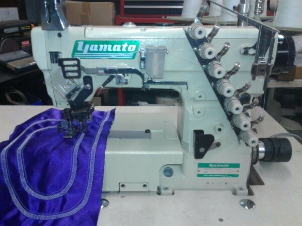 yamato sewing machine for attaching facing to pockets
