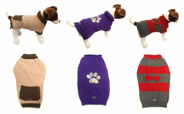 Pet Dog Clothes Winter Sweater Knitwear Puppy Clothing Warm Apparel quot;US sellerquot; $4.95