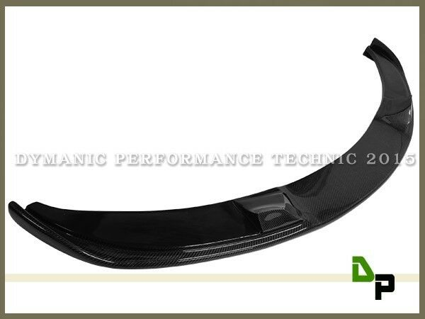 HM Style Carbon Fiber Front Bumper Add on Lip For BMW E60 M5 2006-2010 Only