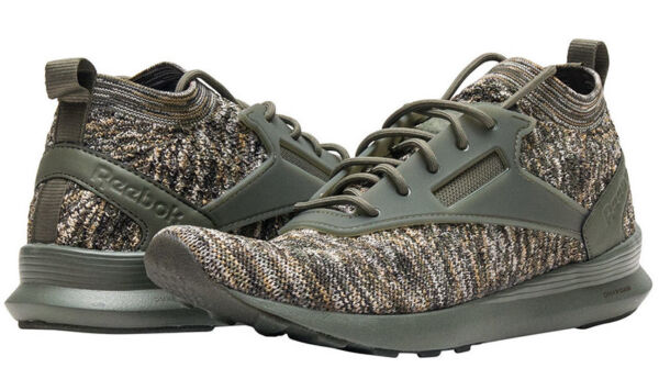 New Reebok Zoku Runner Knit Casual Sneaker green multi Mens all sizes