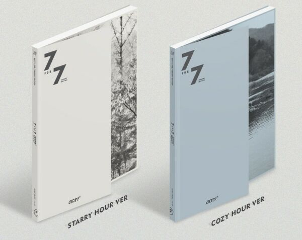 GOT7 - 7 for 7 PRESENT EDITION [Starry Hour+Cozy Hour ver. SET] + 2 Posters