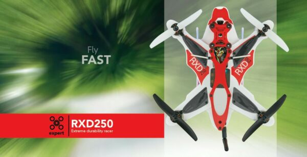 NEW- RISE RXD250 RACE  DRONE -BRUSHLESS -FPV-   LAST ONE!!