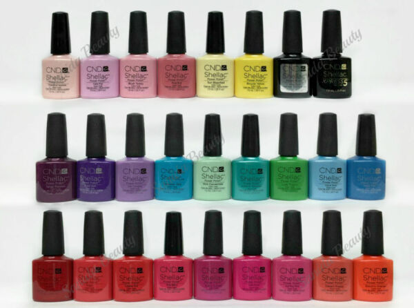 CND Shellac amp; Vinylux Duo Series 1 Choose Any Duo $17.99