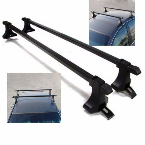 "New 48"" Universal Roof Top Rack Luggage Cargo Cross Bars For SUV Truck Jeep"