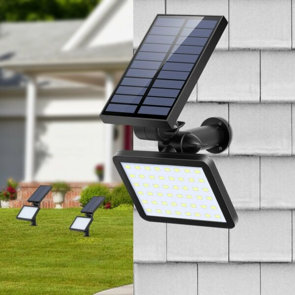 48LED Solar Power Spotlight Garden Lawn Lamp Landscape Lights Outdoor Waterproof