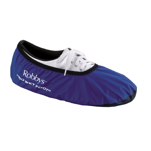 Robbys BLUE No Wet Feet Bowling Shoe Covers Size Large $9.99