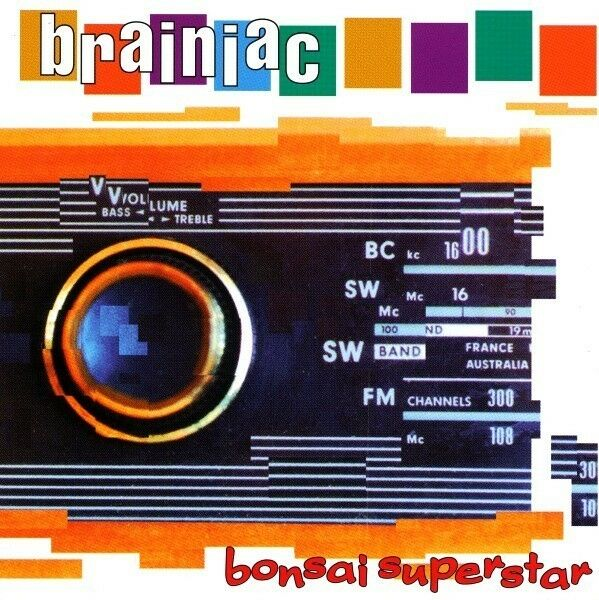 Brainiac Bonsai Superstar Vinyl LP Record ONLY 500 PRESSED! Rare Indie Album NEW