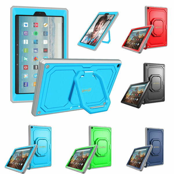Fintie Shockproof Case Stand Cover For Amazon Fire HD 10 2019 2017 10.1quot; Tablet