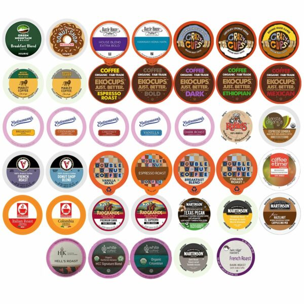 40k Cups Pick Any Flavor Quantity Variety Pack Sampler For Keurig Coffee Pods