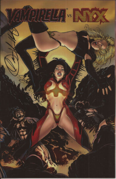 Vampirella Monthly #12 C Holochrome Variant Unique Sketch by Louis Small VF $30.00