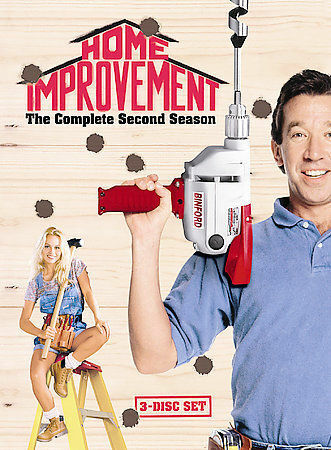 Home Improvement - The Complete Second Season, New DVD, Tim Allen,