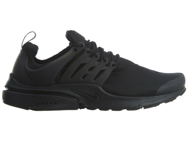 Nike Air Presto Essential Mens 848187-011 Black Mesh Running Shoes Size 9