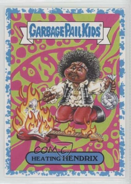 2017 Topps Garbage Pail Kids Battle of the Bands Spit 8499 Heating Hendrix 0c4