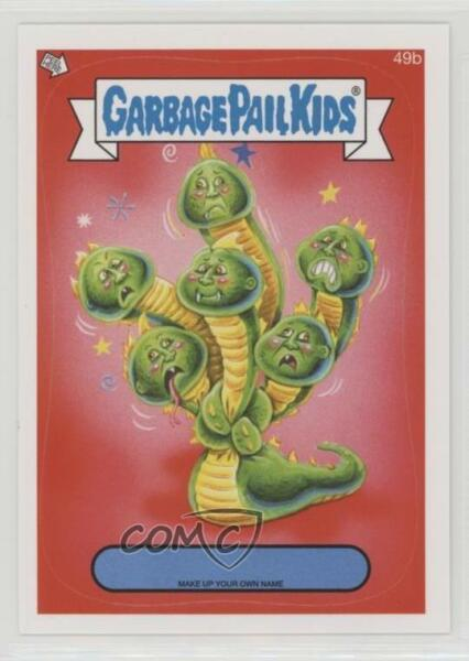 2014 Topps Garbage Pail Kids Series 1 Make up Your Own Name #49b Up Card 2ts