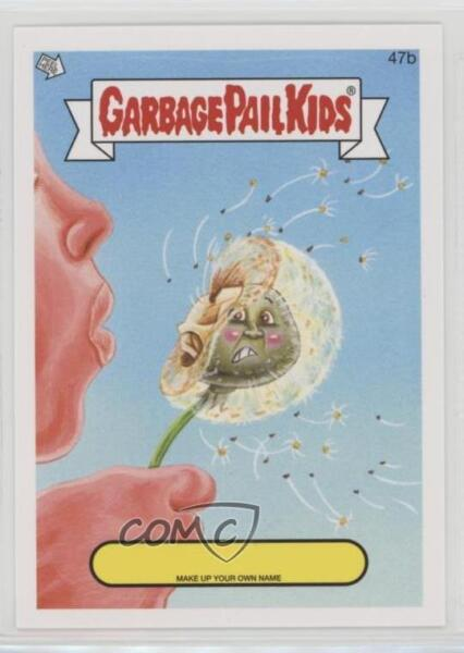 2014 Topps Garbage Pail Kids Series 1 Make up Your Own Name #47b Up Card 2ts