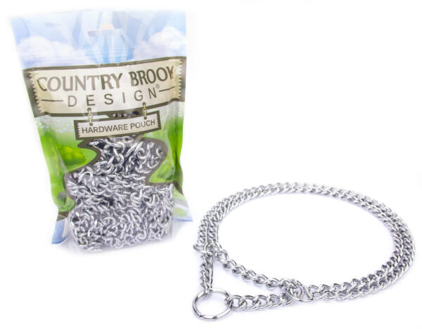10 Country Brook Design® Chain Martingale Dog Collar Small $75.95