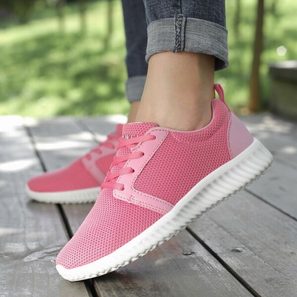 Women's Sports Breathable Casual Sneakers Running Tennis Shoes