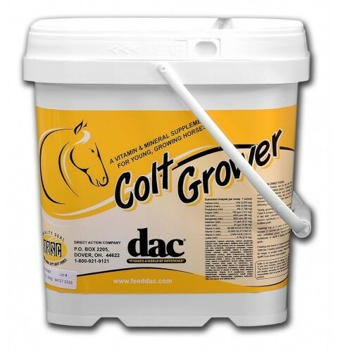 dac® Colt Grower 5 # Bucket For up to 24 mo old. *40 day supply* $39.00