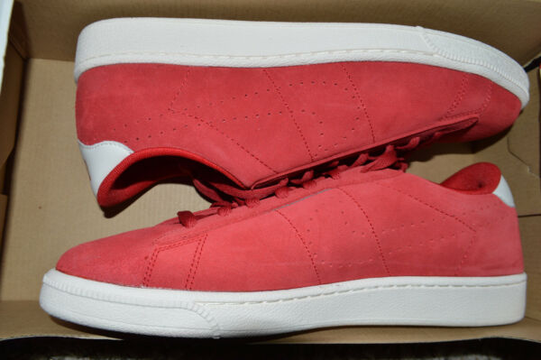 New Mens Nike Tennis Classic CS Suede Casual Shoes 829351-600 Sz 11 Varsity Red