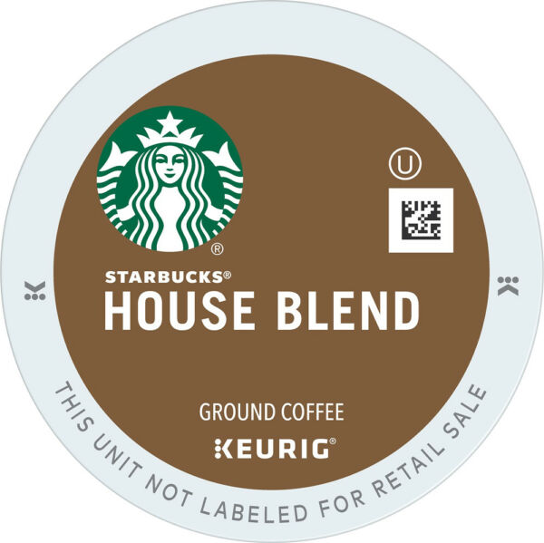 Starbucks House Blend Coffee 24 to 96 Keurig K cups Pick Any Size FREE SHIPPING