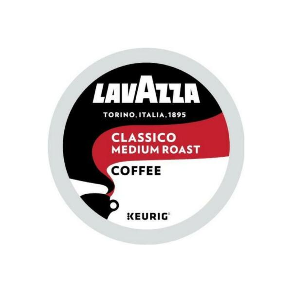 Lavazza Classico Coffee 22 to 88 Keurig K cups Pick Any Size FREE SHIPPING