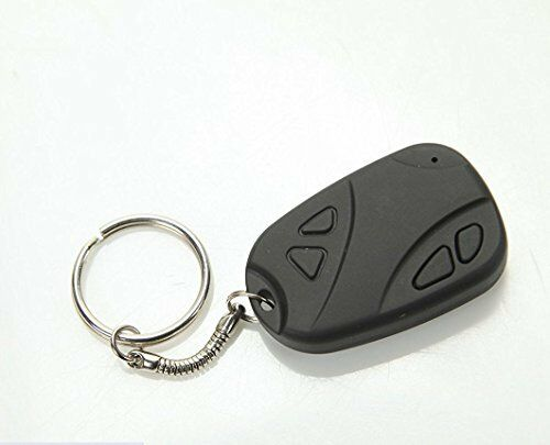 Secret Hidden Spy Camera & Recorder in Keychain - Lightweight Small & Discreet