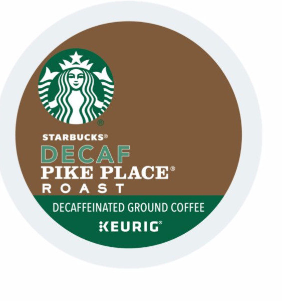 Starbucks DECAF Pike Place Coffee 24 to 144 Keurig Kcups Pick Any Size FREE SHIP