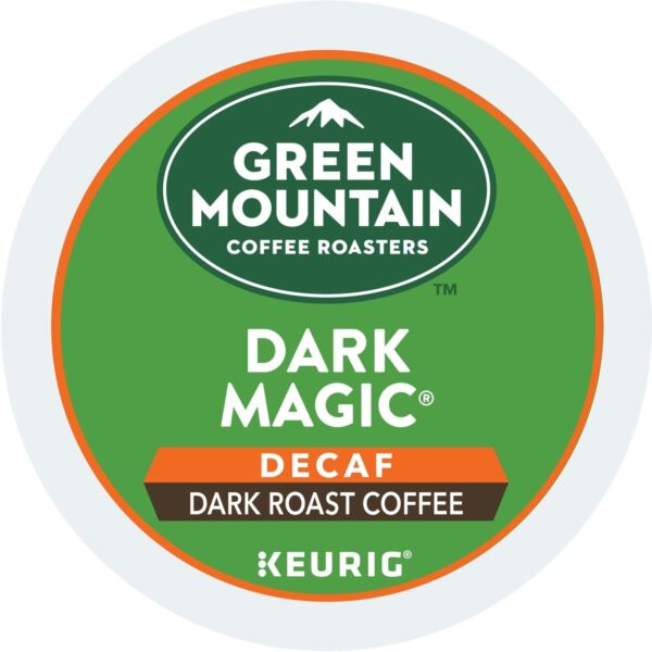 Green Mountain Dark Magic DECAF Coffee 24 to 96 Keurig K cups Pick Any Size