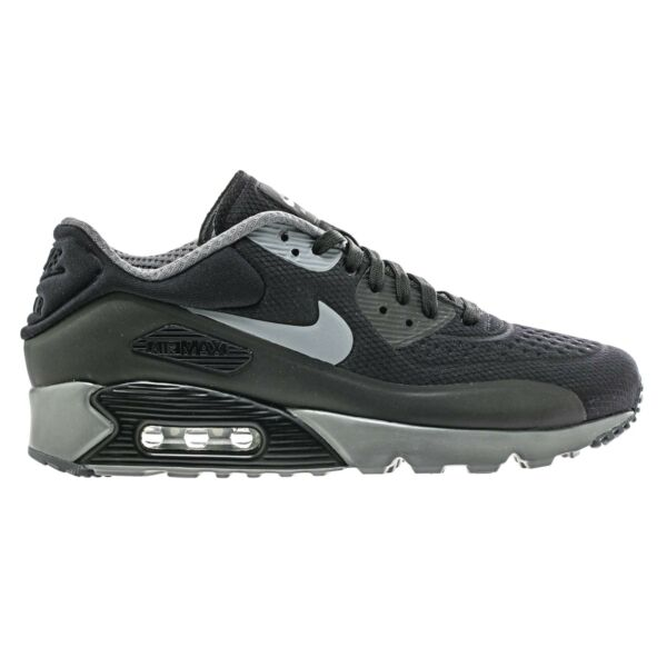NIKE AIR MAX 90 ULTRA SE BLACK GREY MEN'S SIZE 10.5 RUNNING SHOES 845039-003