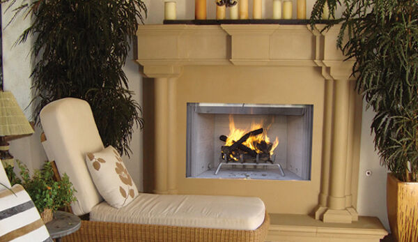Superior WRE3036WS White Stacked Refractory Panel WoodBurning PureFire FP 36