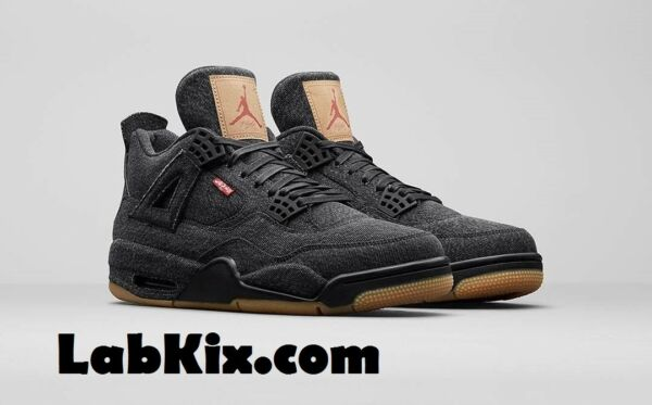 PRE ORDER Nike Air Jordan 4 Retro NRG SZ 8-14 Black Denim Levis Pack AQ2571-001