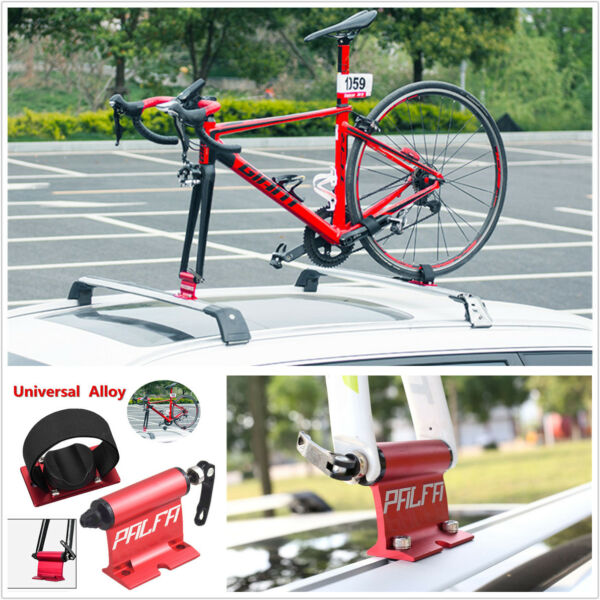 Car Roof Bike Bicycle Mount Carrier Rack Quick release Alloy Fork Lock Universal $66.89
