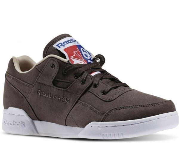 Reebok Sneakers Workout Plus Stone/Oatmeal/White Size 9-11.5  Shoes Msrp $85