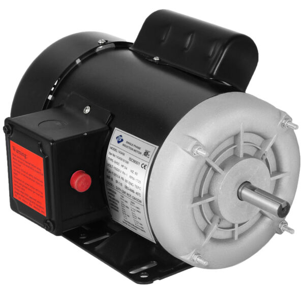34 HP Electric Motor 1 ph 1750rpm 58'' shaft outdoors 115230 V Waterproof