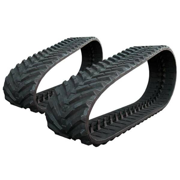 Pair of Prowler JCB 260T ECO Snow and Mud Rubber Tracks - 450x86x56 - 18