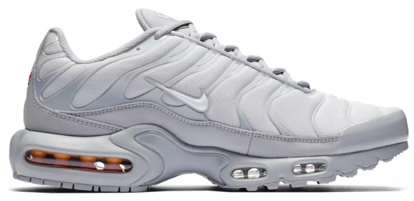 New NIKE Air Max Plus TN Men's Sneakers wolf gray platinum white all sizes