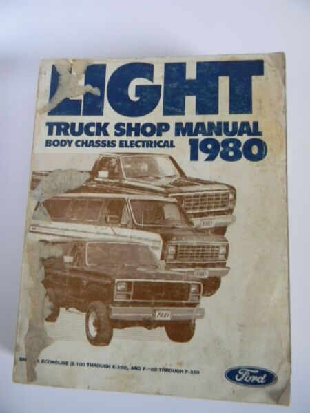 1980 Ford Light Truck Shop Manual