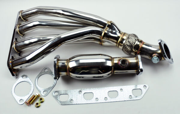Mini Cooper 02-06 R53 1.6L Base & S Stainless Race Manifold Header & Test Pipe