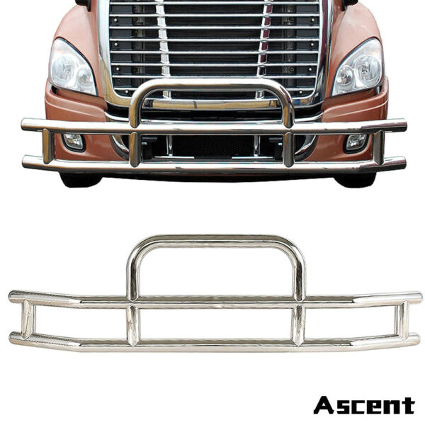 Truck Chrome Stainless Steel Front Bumper Grill Bar Guard For Cascadia 2008-2017