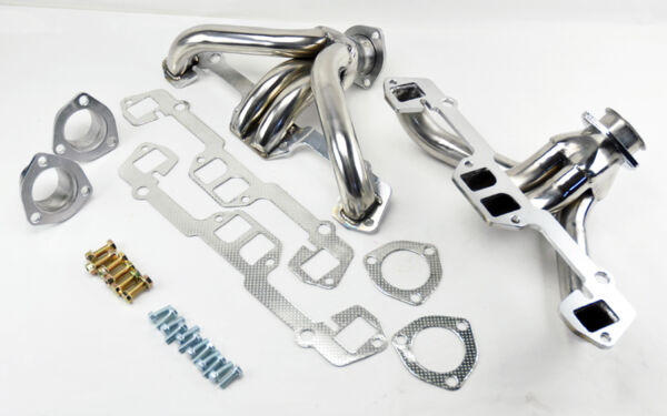 Shorty Exhaust Headers Fits Dodge Chrysler Plymouth Small Block 273-360 5.2/5.6