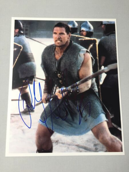 RALF MOELLER 'Gladiator' German actor In-person signed photo 8x10 + photo