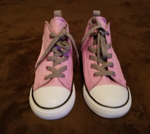 Chuck Taylor All Star TAYLOR ALL STAR CORE CONVERSE PINK/WHITE 754416F size 10