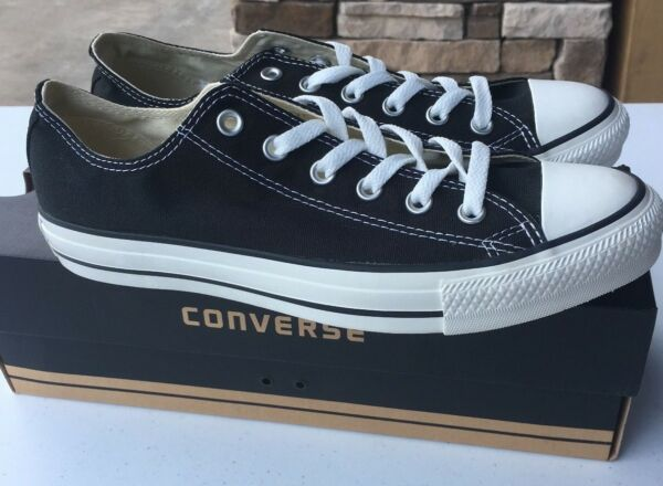 CONVERSE Chuck Taylor All Star Low Oxford Sneaker  X9166 Black Sizes 11.5 to 14