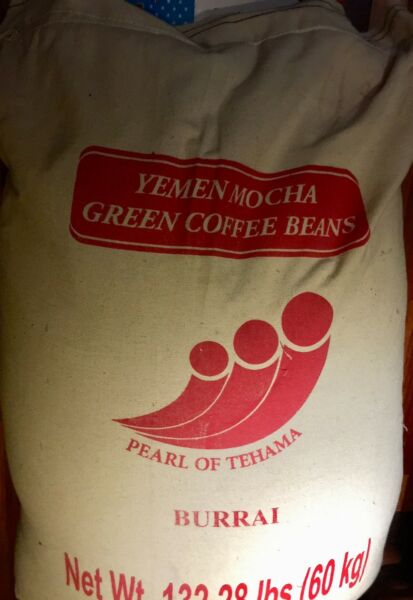 18 lbs Yemen Mocca Burrai Microlot Unroasted Green Coffee Bean Only Ones on EBay