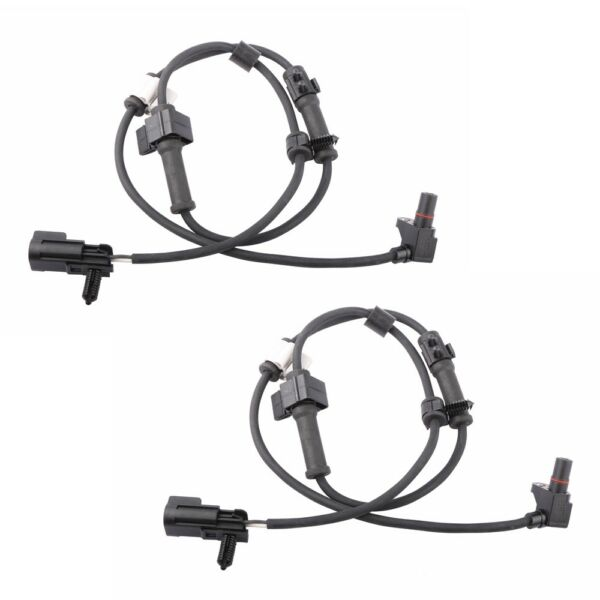 2PCS ABS Wheel Speed Sensor Front Pair For 2002-2009 Chevrolet GMC Buick